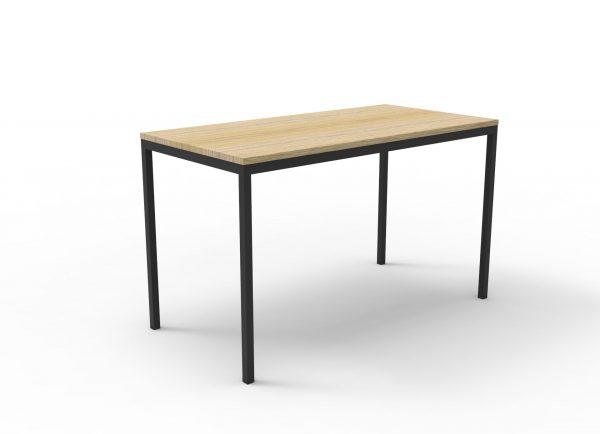 Rapidline Steel Frame Drafting Table Oak