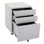 Go Steel Mobile Desk Pedestal Drawers
