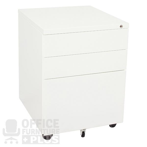 Go Steel Mobile Desk Pedestal Drawers
