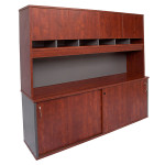 Rapid Manager Hutch with Credenza