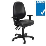 PO500 High Back Ergonomic Heavy Duty Operator Chair AFRDI Certified