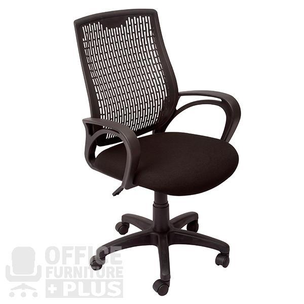 SF-Black RE100 Medium Back Executive Office Chair