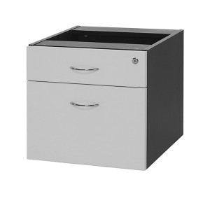 Logan Fixed Desk Pedestal Drawers