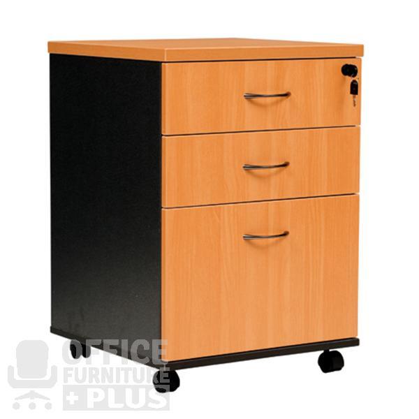 logan mobile pedestal drawers office furniture plus. Black Bedroom Furniture Sets. Home Design Ideas
