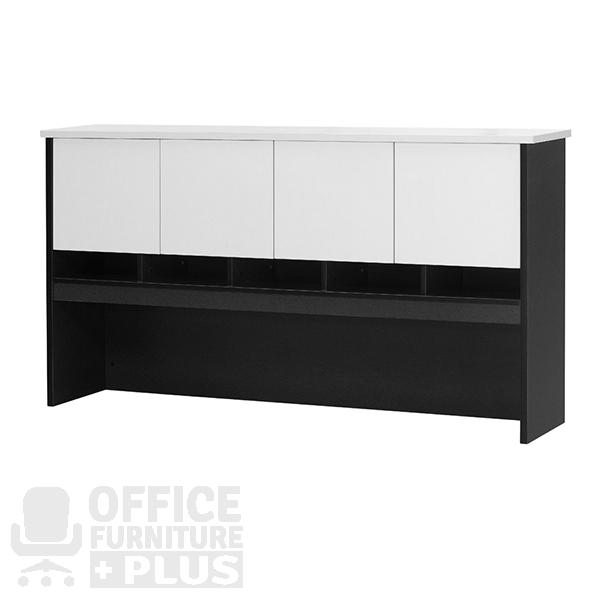 Logan Overhead Hutch with Doors