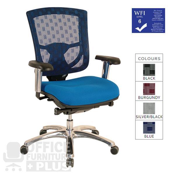 Syntech 2 Mesh Back Executive Office Chair The Syntech 2 Has An