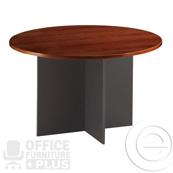 Office ezy round meeting table office furniture plus for Round table for office