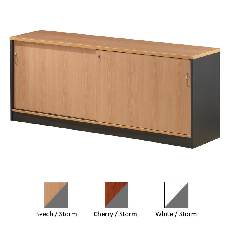 Office Credenza With Doors : Office ezy sliding door credenza furniture plus