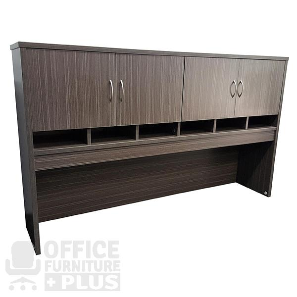 Overhead Hutch With Doors Office Furniture Plus