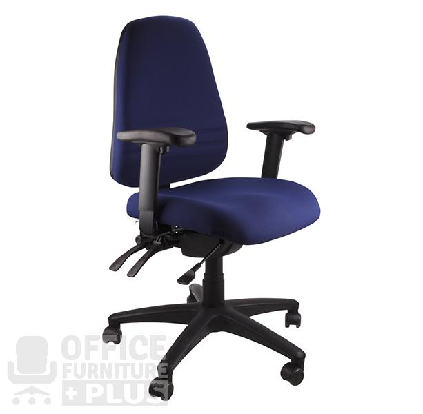 Endeavour Navy Arms Office Furniture Plus