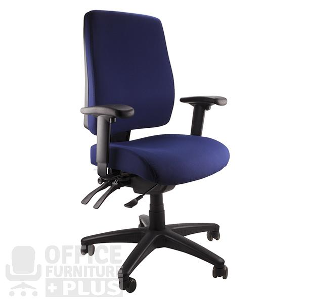 Ergoform Navy Arms Office Furniture Plus