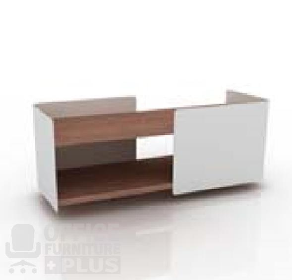 Bench Desking Double Shelf With Bracket Office Furniture