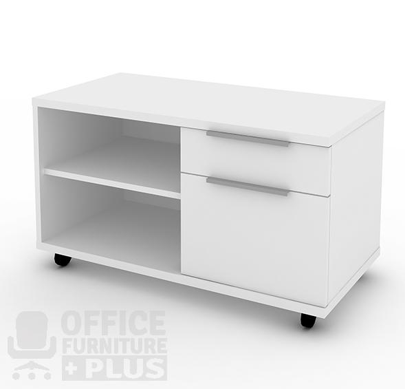 Mobile Caddie With Drawers 2 Office Furniture Plus