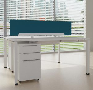Two-Seat-Double-Row-Bench-Desk-Frame