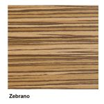 Zebrano Finish