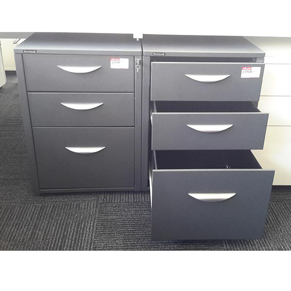 Brownbuilt Mobile Ped 2 Office Furniture Plus