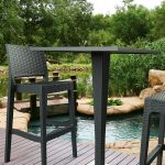 Riva Bar Table Base Hospitality