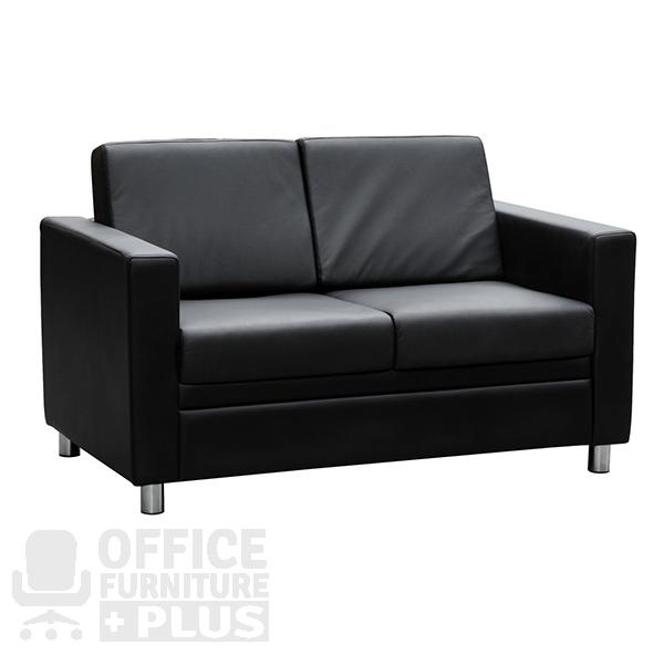 Marcus lounge two seater reception seating office furniture plus - Clearance home office furniture ...