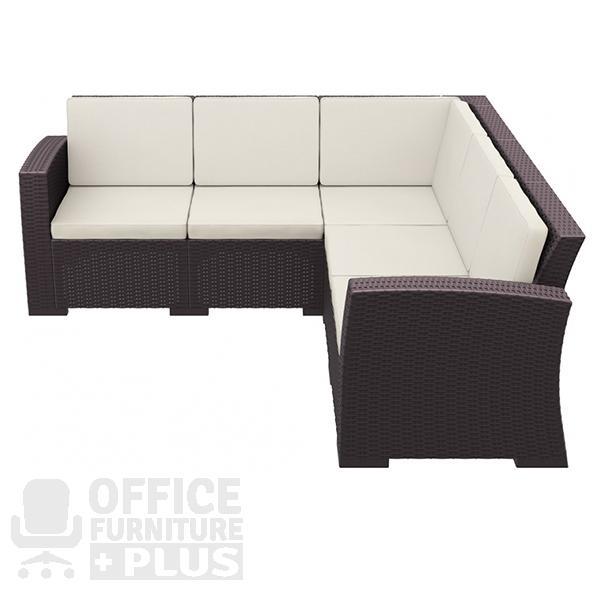Monaco Lounge Corner Hospitality Set Office Furniture Plus