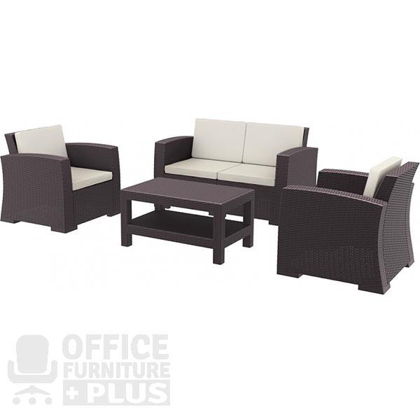 Monaco lounge hospitality set office furniture plus - Clearance home office furniture ...