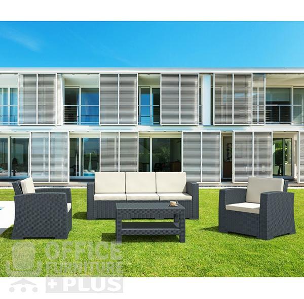 Monaco Lounge Set Xl 4 Office Furniture Plus