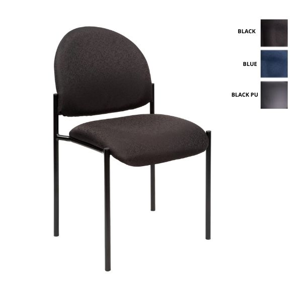 Stacking Visitor Office Chair YS11B Black