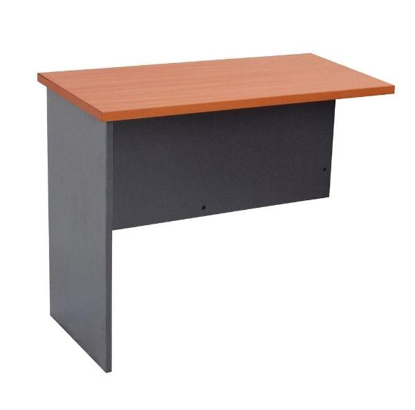 Rapid Worker Desk Return Cherry Ironstone