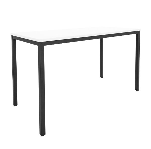 Rapidline Steel Frame Drafting Table White