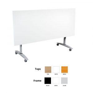 Summit Flip Flop Table White